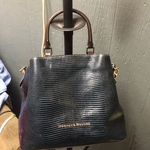 A real Dooney & Bourke purse
